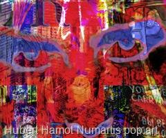 Hubert Hamot Numartis pop art