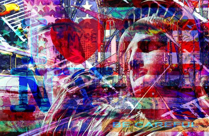 Hubert hamot Numartis Pop Art Digital
