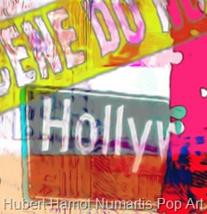 hollywood-crime2 Hubert Hamot Numartis Pop Art Digital