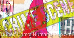 hollywood-crime7 Hubert Hamot Numartis Pop Art Digital