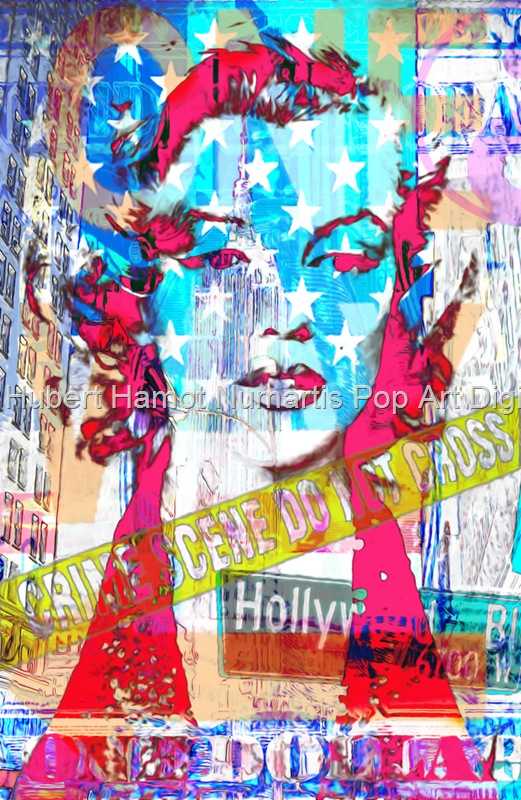 hollywood-crime Hubert Hamot Numartis Pop Art Digital
