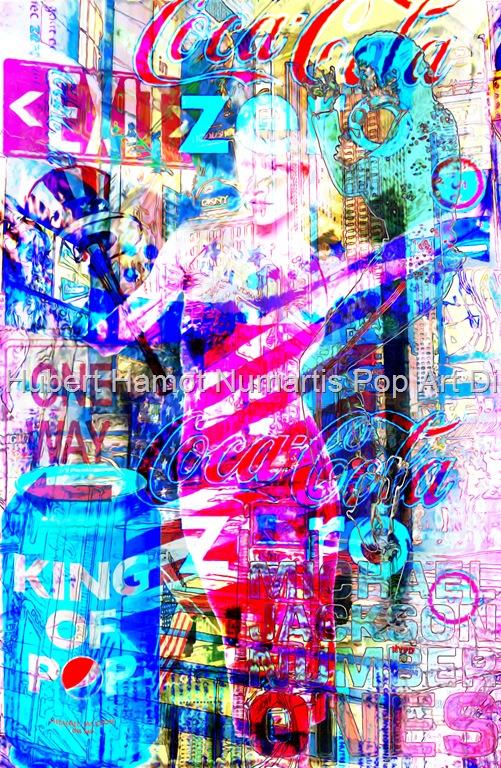 king-exit Hubert Hamot Numartis Pop Art Digital