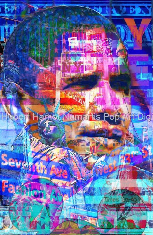 president-of-united-states Hubert Hamot Numartis Pop Art Digital