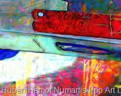 Bart-Skywalker Hubert Hamot Numartis Pop Art Digital