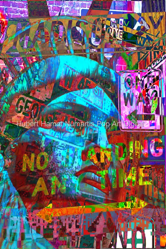 Pop-signs Hubert Hamot Numartis Pop Art Digital