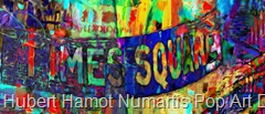 new-york-city-time-square Hubert Hamot Numartis Pop Art Digital