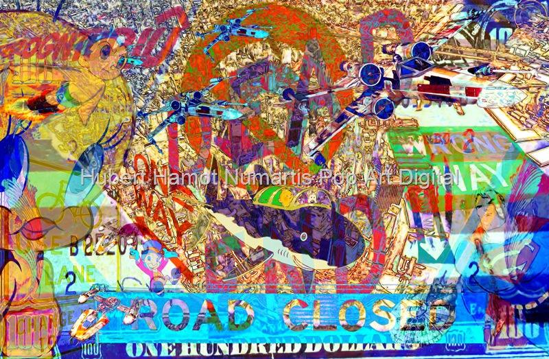 where-am-i Hubert Hamot Numartis Pop Art Digital