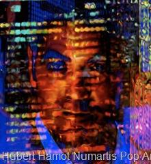 George-in-the-window-3 Hubert Hamot Numartis Pop Art Digital