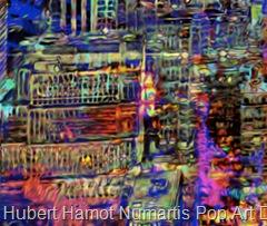 George-in-the-window6 Hubert Hamot Numartis Pop Art Digital