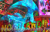 Pop-signs1 Hubert Hamot Numartis Pop Art Digital