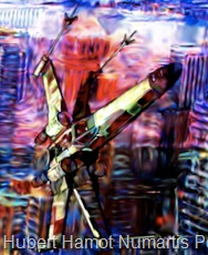 air-force2 Hubert Hamot Numartis Pop Art Digital