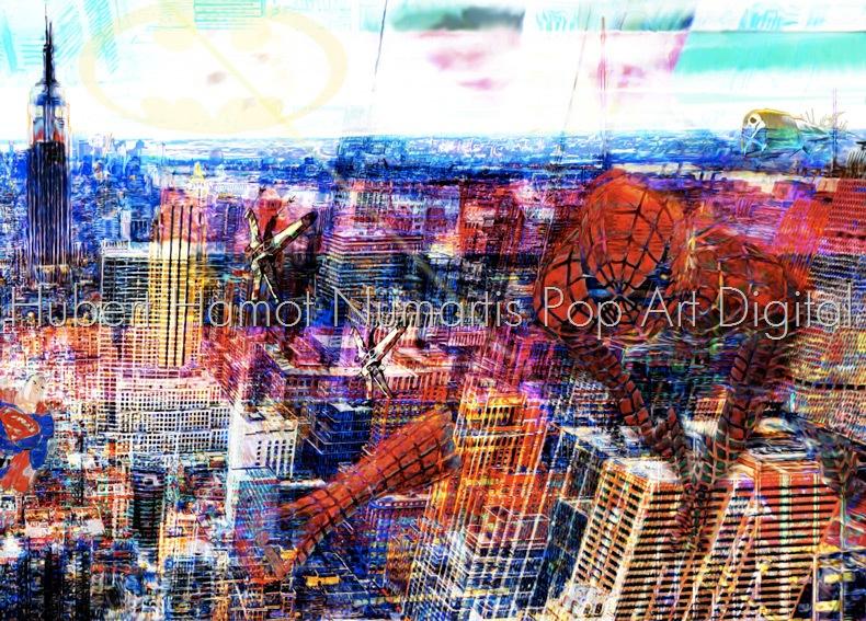 air-force Hubert Hamot Numartis Pop Art Digital