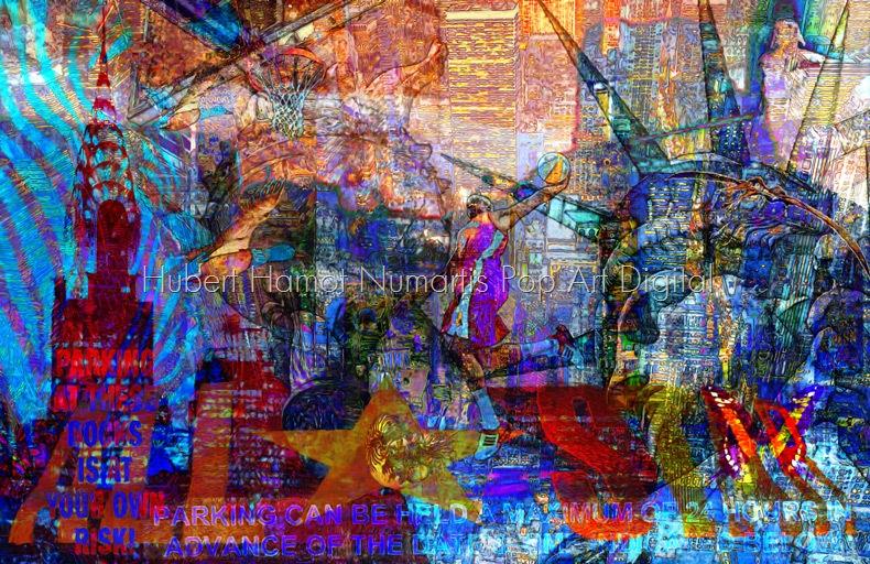 All-Star Hubert Hamot Numartis Pop Art Digital