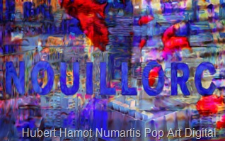 New-york-Nouillorc5 Hubert Hamot Numartis Pop Art Digital