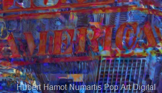 New-york-Nouillorc6 Hubert Hamot Numartis Pop Art Digital