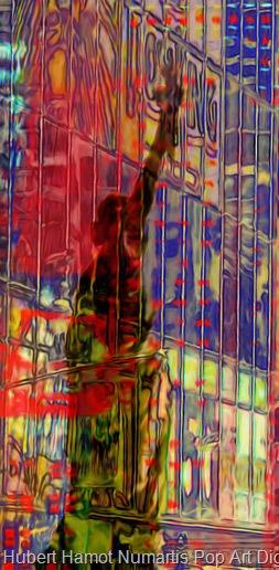 asteroide-crossing4 Hubert Hamot Numartis Pop Art Digital