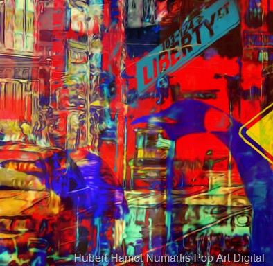asteroide-crossing6 Hubert Hamot Numartis Pop Art Digital