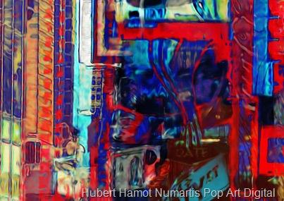 asteroide-crossing7 Hubert Hamot Numartis Pop Art Digital