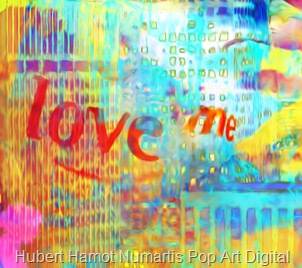 love-me-liberty4 Hubert Hamot Numartis Pop Art Digital