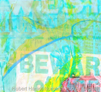 please-be-safe3 Hubert Hamot Numartis Pop Art Digital