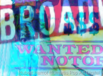 wanted-dead-or-alive3 Hubert Hamot Numartis Pop Art Digital