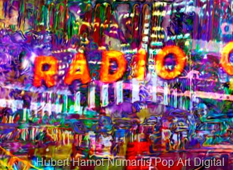 radio-city4 Hubert Hamot Numartis Pop Art Digital