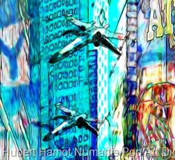 strangers-in-nyc4 Hubert Hamot Numartis Pop Art Digital