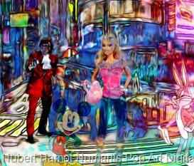 strangers-in-nyc5 Hubert Hamot Numartis Pop Art Digital