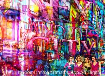 strangers-in-nyc6 Hubert Hamot Numartis Pop Art Digital