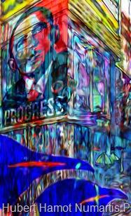 strangers-in-nyc7 Hubert Hamot Numartis Pop Art Digital