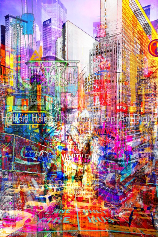 vanity Hubert Hamot Numartis Pop Art Digital