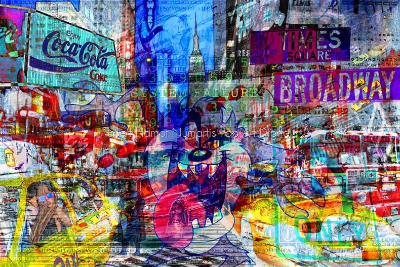 devil-inside Hubert Hamot Numartis Pop Art Digital